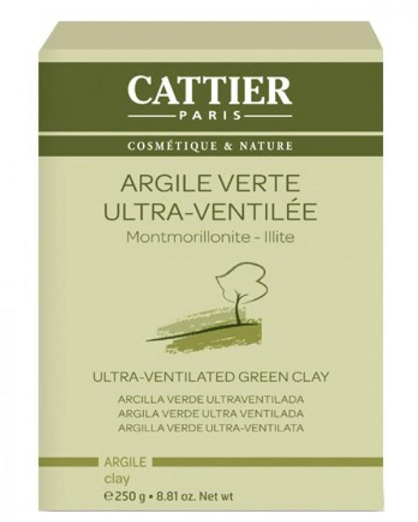Argila verde ultra-ventilata, 250g - CATTIER