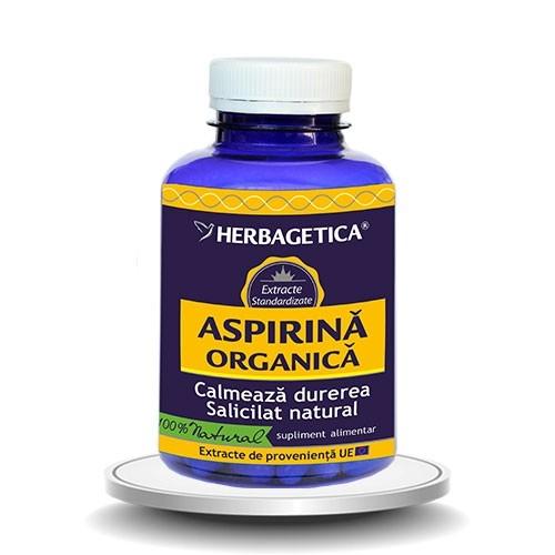 ASPIRINA Organica, 120 capsule - HERBAGETICA