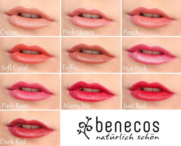 Ruj de buze bio Peach - Benecos