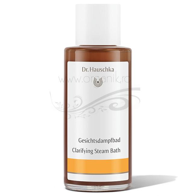 Baie de aburi pentru tenul impur, solutie purificatoare, 100 ml - Dr. Hauschka