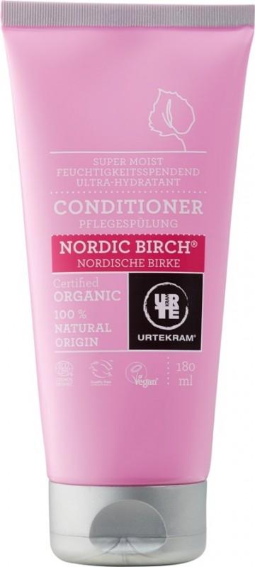 Balsam bio nutritiv pentru par cu mesteacan Nordic Birch, 180 ml - URTEKRAM