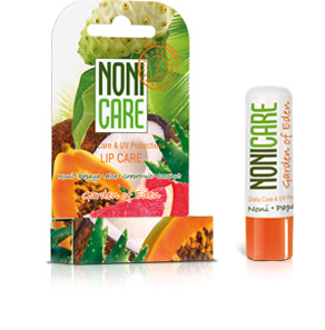 Balsam de buze bio cu protectie solara UV, Garden of Eden - NONICARE