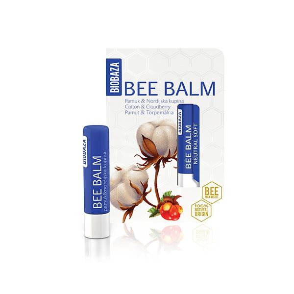 Balsam de buze natural Cotton & Cloudberry - BIOBAZA