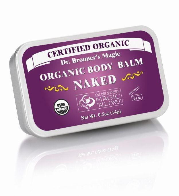 Balsam organic super hidratant fata si corp, Fara Parfum, 14 g - DR. BRONNER