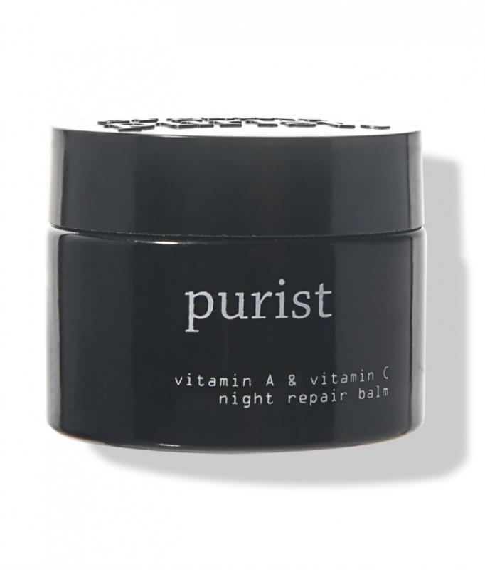Balsam de noapte antiage reparator cu vitamina A si C - 100 Percent Pure Cosmetics
