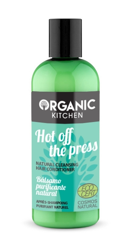 Balsam de par purificator, cu menta, Hot Off The Press - Organic Kitchen