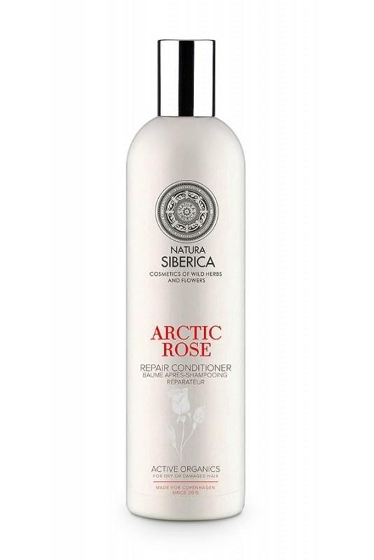 Balsam reparator par uscat sau deteriorat Arctic Rose, Copenhagen 400 ml - Natura Siberica