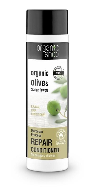 Balsam de par reparator cu portocala si maslin Moroccan Princess, 280 ml - Organic Shop