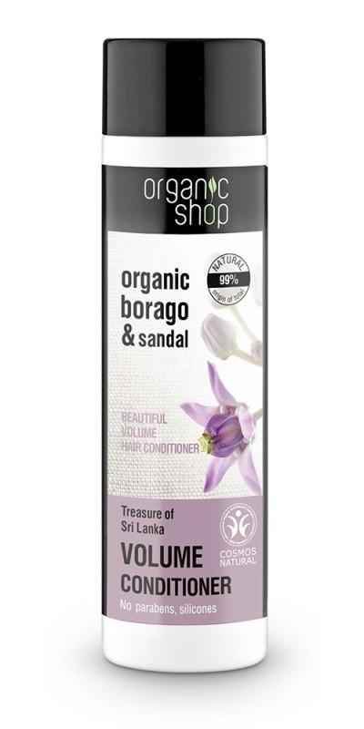 Balsam de par volum cu santal Treasure Of Sri Lanka, 280 ml - Organic Shop