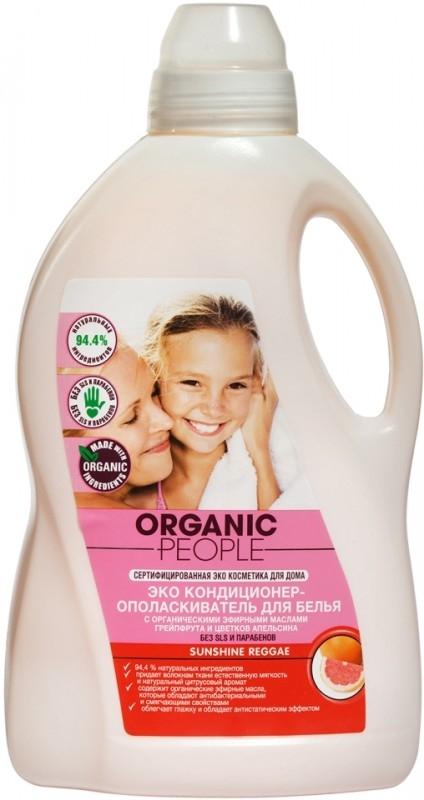 Balsam ecologic pentru rufe cu grapefruit Sunshine Reggae, 1.5L - Organic People