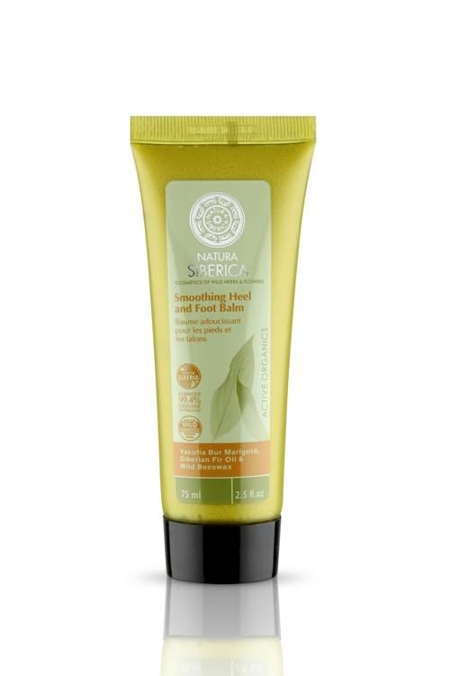 Balsam hidratant pentru picioare si calcaie cu plante siberiene, 75 ml - Natura Siberica