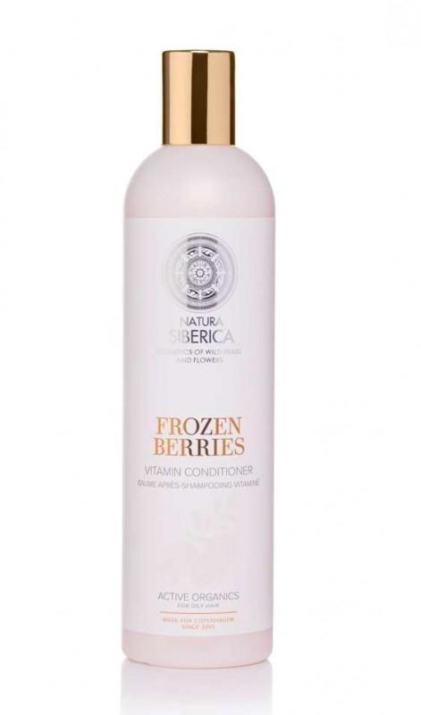 Balsam vitaminizant pentru par gras Frozen Berries, Copenhagen 400 ml - Natura Siberica