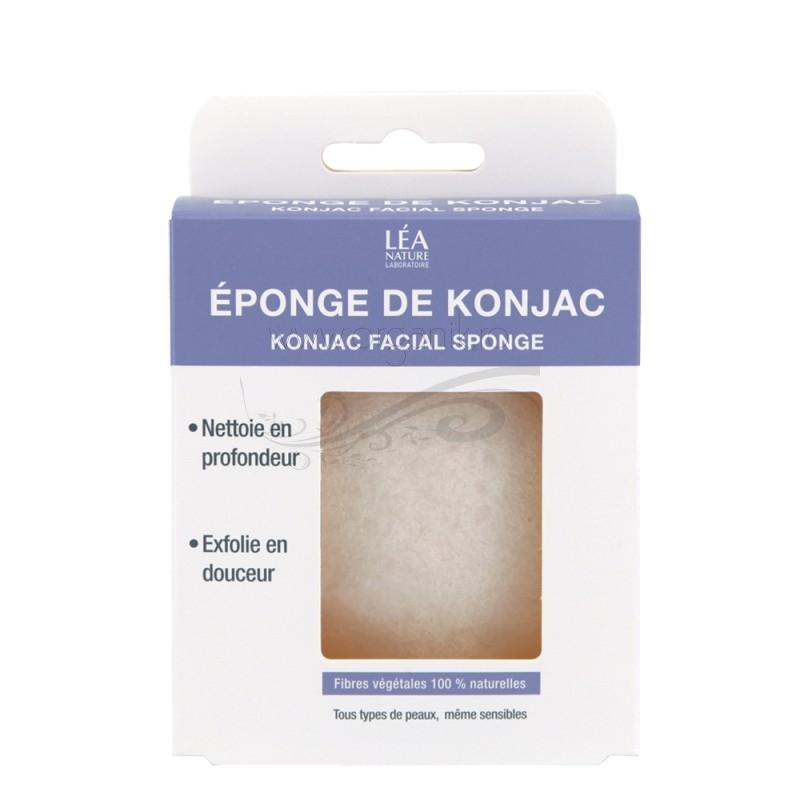 Burete Konjac umed pentru toate tipurile de ten, inclusiv sensibil - JONZAC