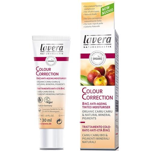 CC cream bio, crema corectoare antirid 8 in 1 - Lavera