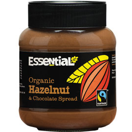 Crema tartinabila bio cu alune de padure si ciocolata, 400g - Essential Organic