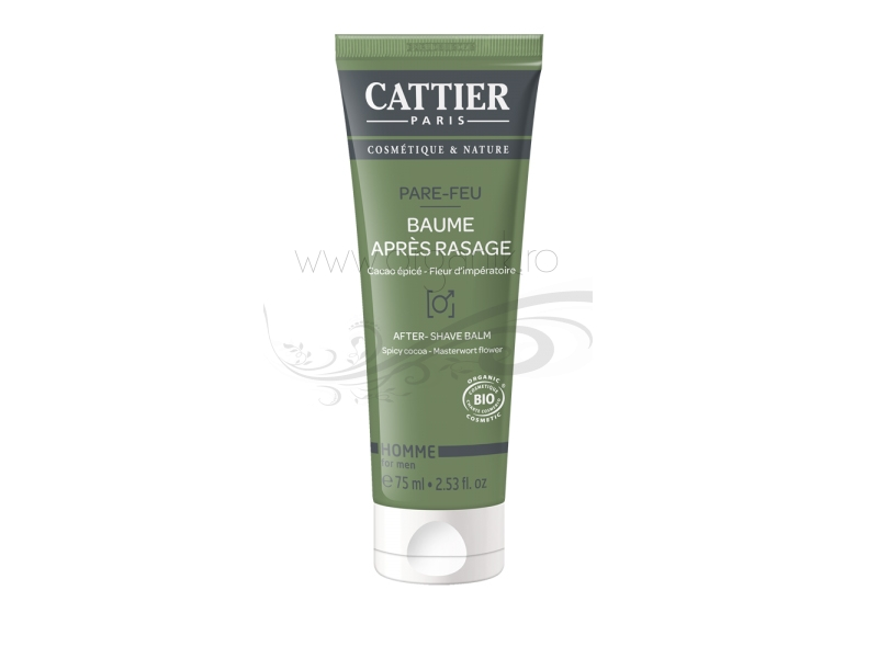 Balsam after shave cu cacao condimentata - CATTIER