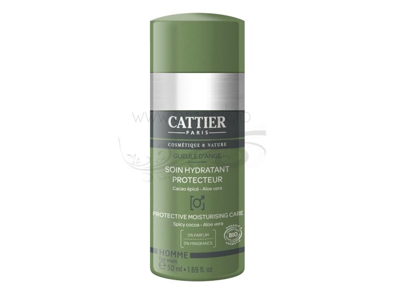 Gel hidratant ten pentru barbati, cu ulei de argan  - CATTIER