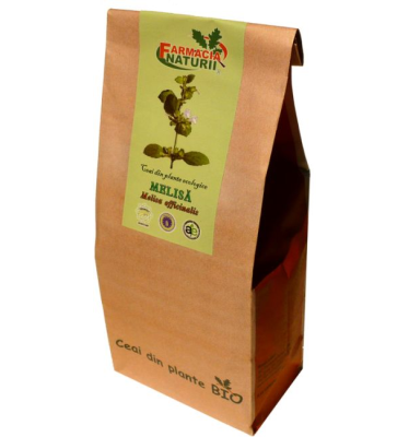 Ceai de roinita (melisa) bio, 30g - Farmacia Naturii