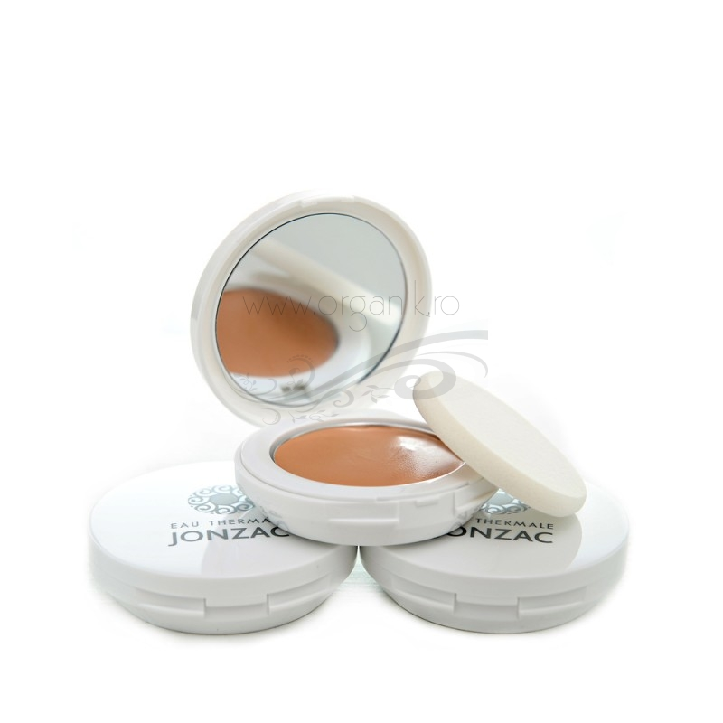 BB cream compact 5 in 1 cu FPS 50 (02 ten inchis) - JONZAC