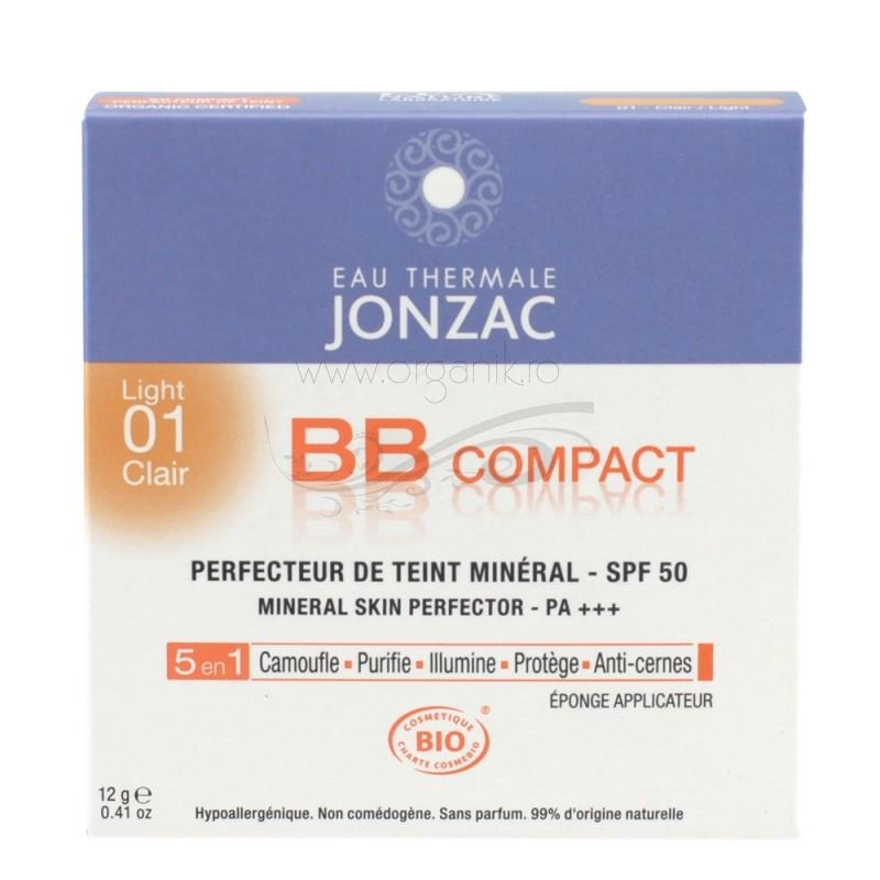 BB cream compact 5 in 1 cu FPS 50 (01 ten deschis) - JONZAC