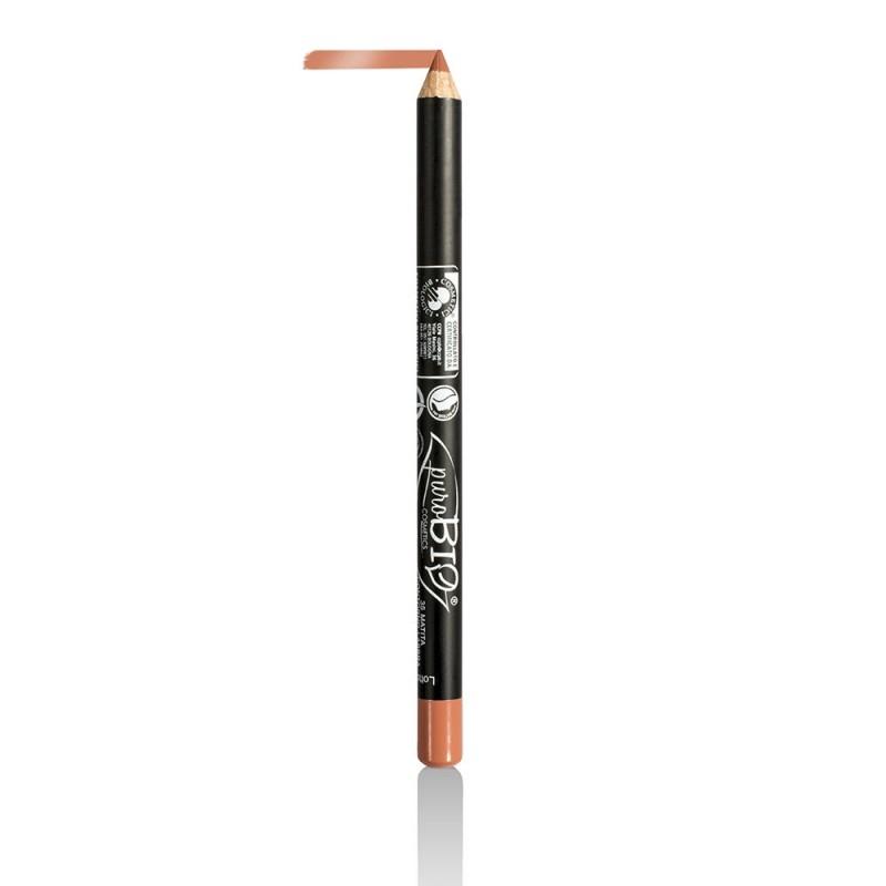Creion bio contur ochi si buze Light Peach no.35 - PuroBio