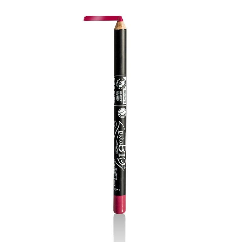 Creion bio contur ochi si buze Strawberry no.38 - PuroBio