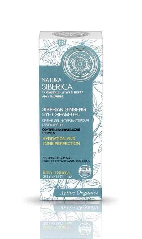 Crema-gel pentru ochi cu efect anticearcan Siberian Ginseng, 30 ml - Natura Siberica