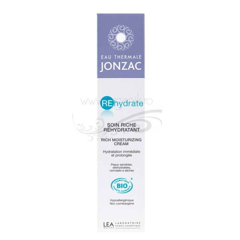 Crema intensiva pentru ten deshidratat, normal sau uscat, REhydrate 50ml - JONZAC