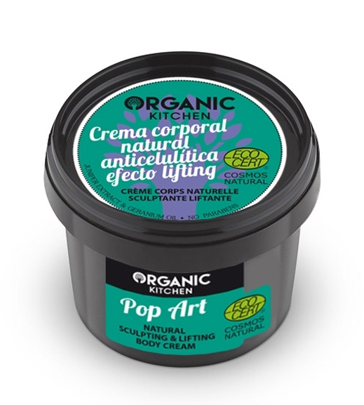 Crema corp lifting anticelulitica Pop Art - Organic Kitchen