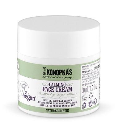 Crema de fata calmanta pentru ten normal sau gras, 50 ml - Dr. Konopka