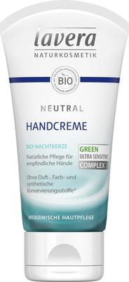 Crema de maini pentru piele foarte sensibila si iritata, Neutral - LAVERA