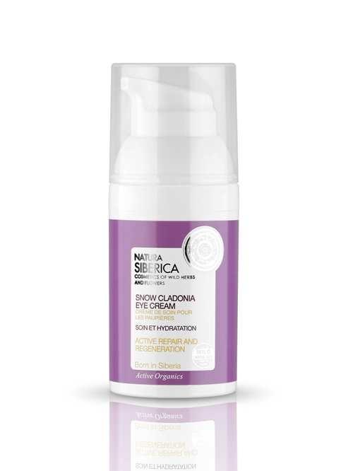 Crema ochi reparare activa si regenerare Snow Cladonia, 30 ml - Natura Siberica