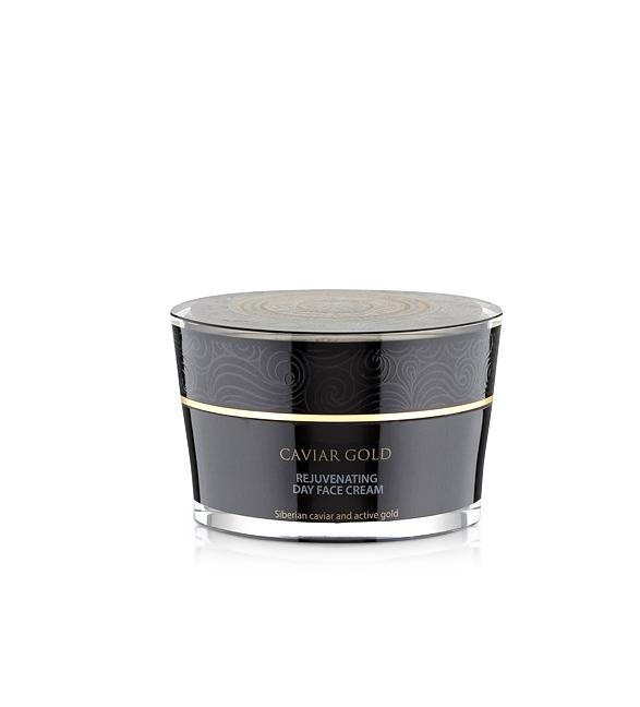 Crema de zi pentru reintinerire cu aur coilodal si caviar, Caviar Gold, 50 ml - Natura Siberica