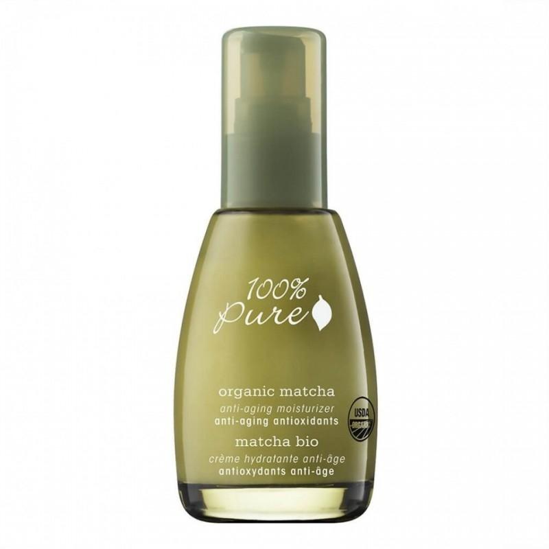 DELISTAT Crema hidratanta antirid cu ceai verde Organic Matcha, 59 ml - 100 Percent Pure Cosmetics