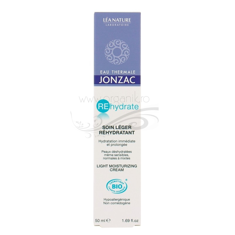 Crema lejera pentru ten deshidratat, normal sau mixt, REhydrate 50ml - JONZAC