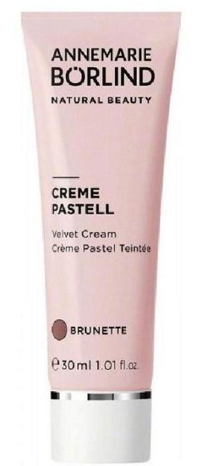 Crema nuantatoare matifianta Brunette (ten inchis), 30 ml - Annemarie Borlind