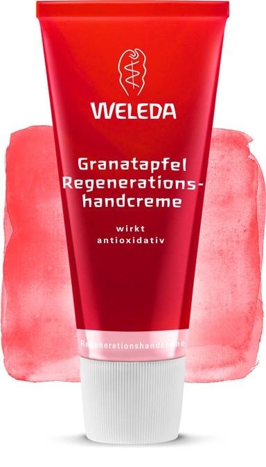 Crema regeneranta cu rodie pentru maini imbatranite, 50 ml - Weleda