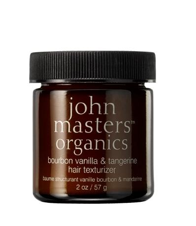 Crema texturizanta par Vanilie & Mandarine, fixare puternica, 57g - John Masters Organics
