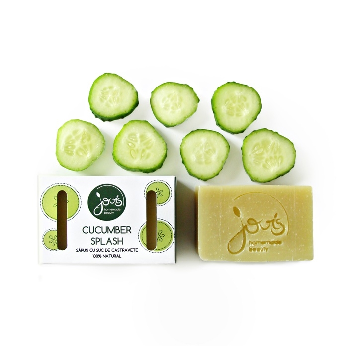 Sapun natural Cucumber splash - Jovis Homemade Beauty
