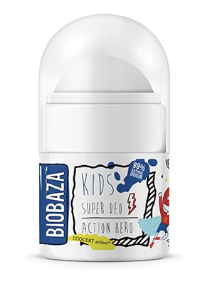Deodorant natural pentru copii Action Hero, 30ml - BIOBAZA
