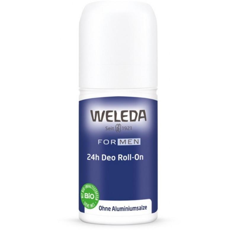 Deodorant natural roll on 24h pentru barbati - Weleda