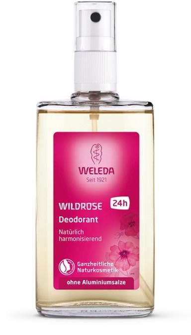 Deodorant spray cu rosa mosqueta, note florale 100 ml - Weleda