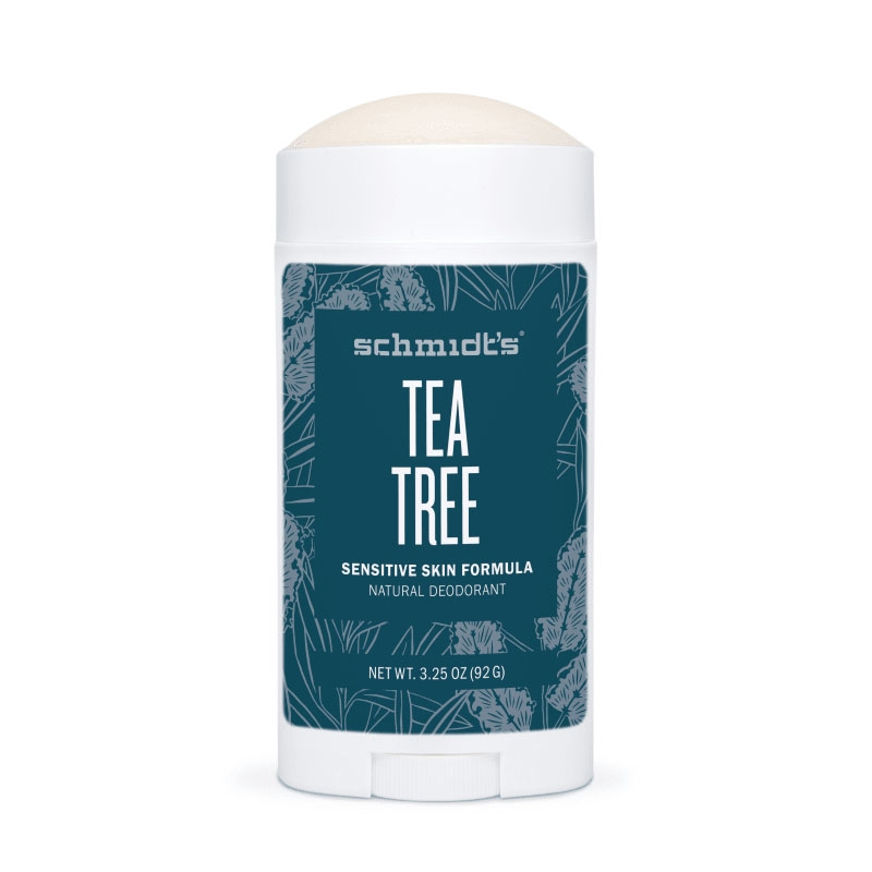Deodorant stick cu magneziu Sensitive Skin, Tea tree - Schmidts's Deodorant