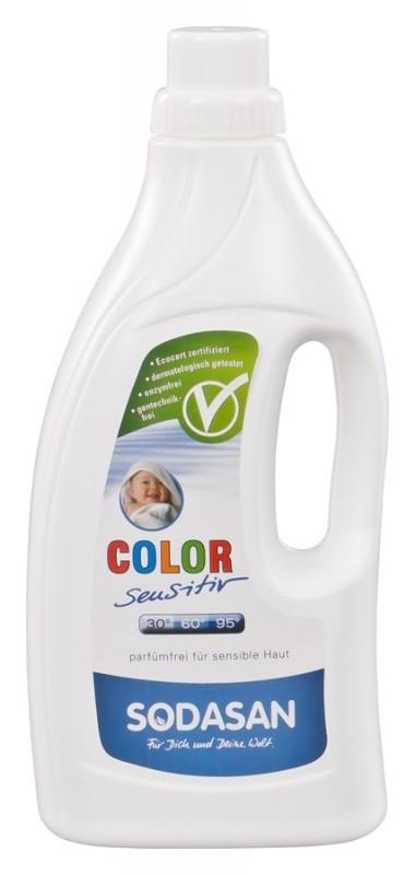 Detergent BIO lichid pentru rufe Sensitive Hipoalergen, 1.5L- Sodasan