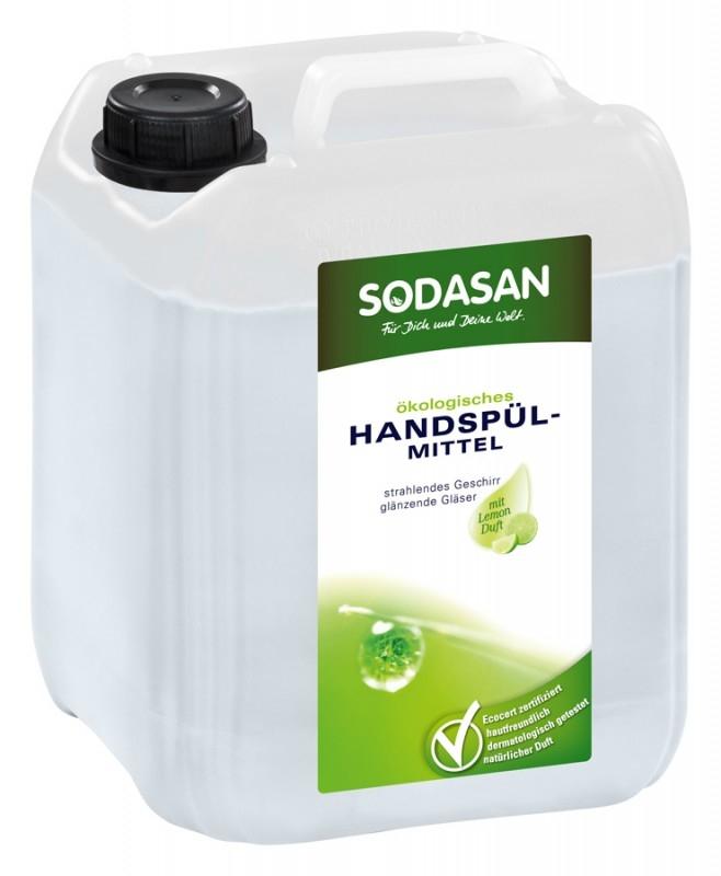Detergent bio pentru vase Lamaie, 5L- Sodasan