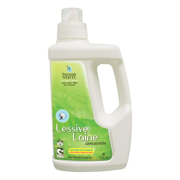 Detergent concentrat pentru lana si textile delicate, 1L - Harmonie Vert
