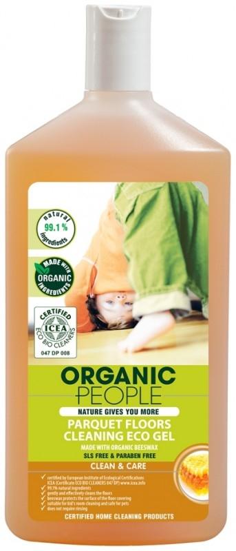 Detergent ecologic cu ceara de albine pentru parchet, 500 ml - Organic People