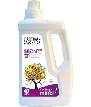 Detergent ecologic pentru rufe albe si colorate, 1.5 L - ARTISAN SAVONNIER