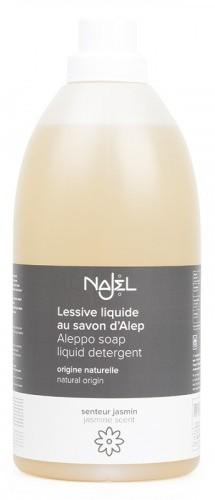 Detergent lichid pentru rufe cu sapun de Alep si iasomie, 2L - NAJEL