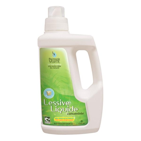 Detergent lichid concentrat pentru rufe 1.5 L - HARMONIE VERTE